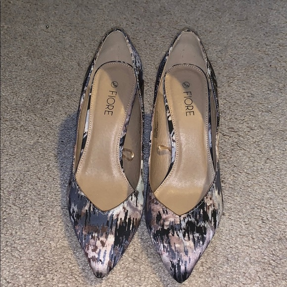 fiore Shoes - fiore heels